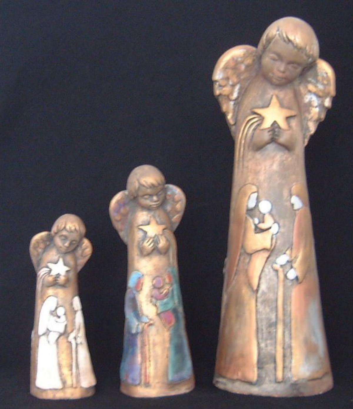 Anioły Gipsowe Figury Figurki Statuetki Posągi Rzeźby